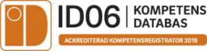 Ackrediterad kompetensregistrator 2019
