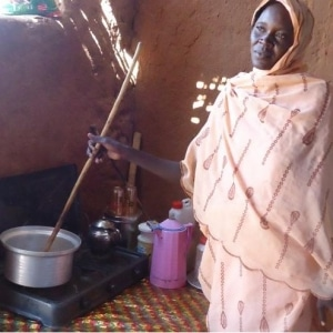 Gold Standard Cooking stoves Darfur