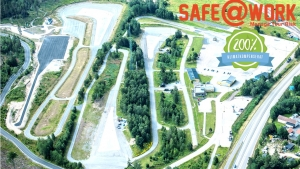 Flygbild Safe@Work