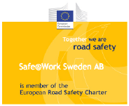 Safe@Work Sweden - En del av European Road Safety Charter